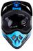 ONeal Backflip RL2 Bungarra Helmet black/blue